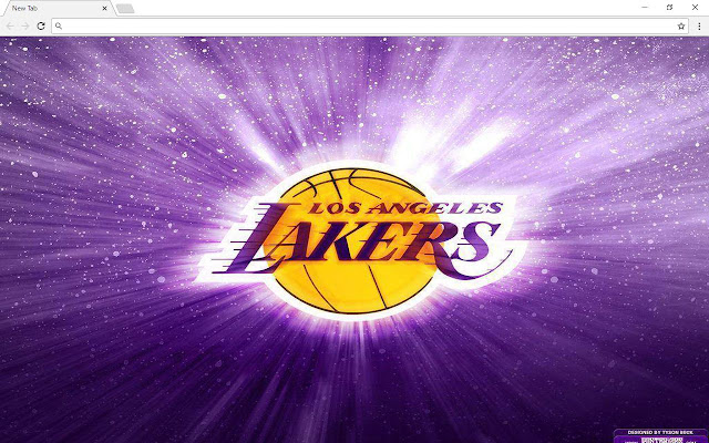 Los Angeles Lakers NBA Wallpapers & New Tab