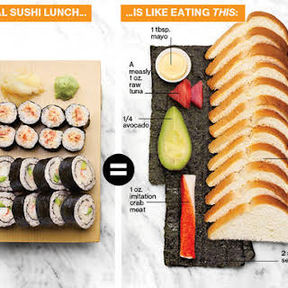 Carbs In Sushi.