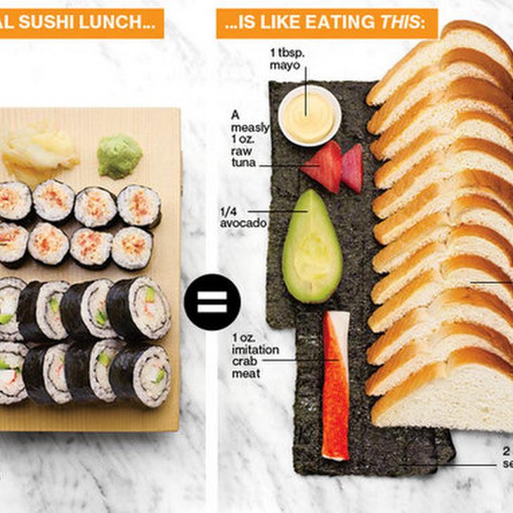 Carbs in Sushi Recipe