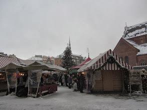 Photo: Kalėdinė mugė pagrindinėj Rygos aikštėj