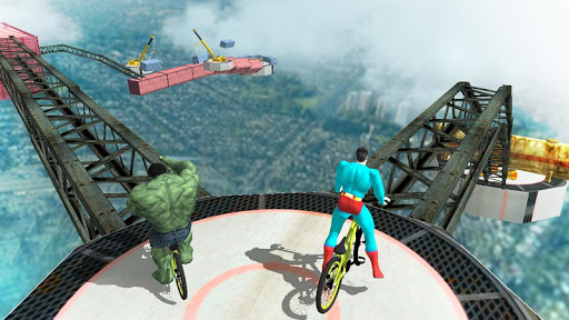 Superhero BMX Racing 2018
