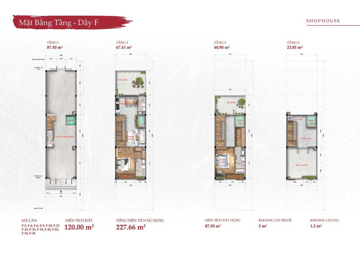 Từng căn hộ đều được thiết kế chi tiết tỉ mỉ nhất