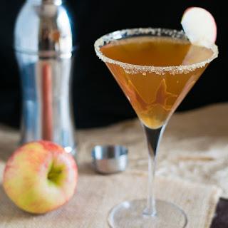 Caramel Apple Cider Martini.
