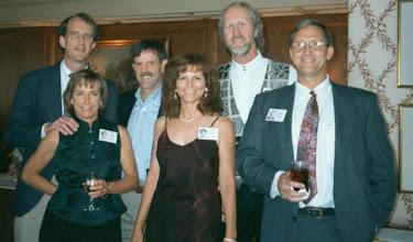 Photo: Linda (Wilson) Mitchell, Sandy (Wilson) Jung, Rocky Williams, Scott Mitchell, Tom Easterling, Steve Jung