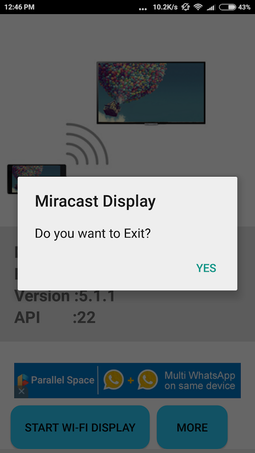 Miracast Display Finder- screenshot