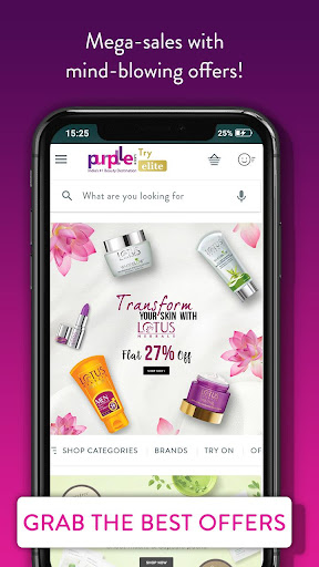 Purplle: Beauty Shopping App. Buy Cosmetics Online Apk 2