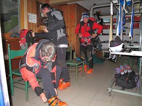 Photo: Preparazione prima della partenza per il Cevedale