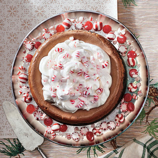 Chocolate-Peppermint Cheesecake