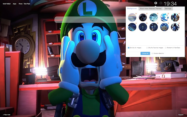 Luigi's Mansion 3 Wallpapers Tab Themes
