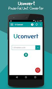Uconvert - Unit converter - náhled