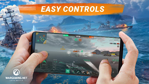 World of Warships Blitz: Gunship Action War Game Screenshot