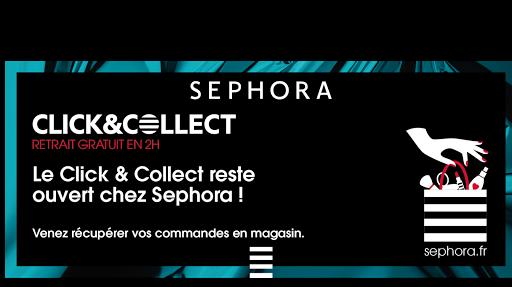Sephora lance son click & Collect