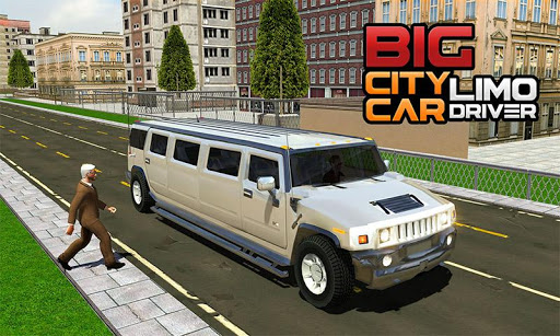 Big City Limo Car Driving Simulator : Taxi Driving 3.8 screenshots 7