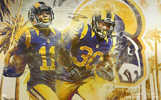 LA Rams HD Wallpapers New Tab Theme