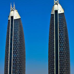 Damac Park Towers~Dubai, UAE by Jes Tan - Buildings & Architecture Other Exteriors
