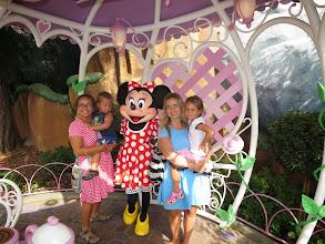 Photo: Disneyland - Posing with Minnie