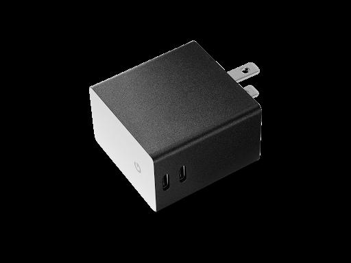 DualPort USB TypeC Charger Adaptor Google Store - Port usb type c