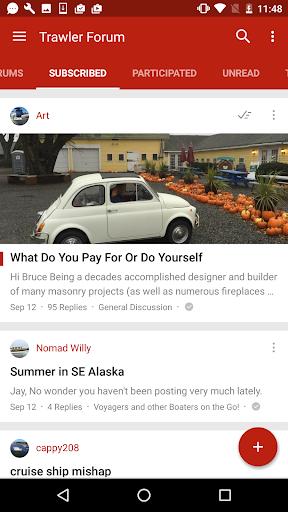 Trawler Forums screenshots 3
