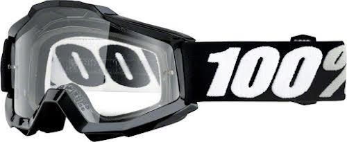 100% Accuri OTG Goggle, Black Tornado with Clear Lens