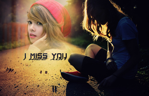 Miss You Photo Frames - náhled