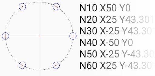 CNC Bolt Circle - Apps on Google Play