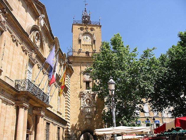 Мэрия Экс-ан-Прованса, где был зарегистрирован брак Поля Сезанна