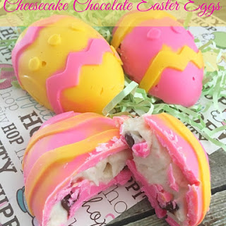 Cheesecake Chocolate Easter Eggs