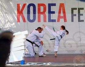 Photo: Uczniowie SP29 trenujący w BKT Huzar podczas Korea Festival 2015 (13.06)
