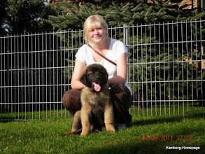 Photo: Wegas lebt jetzt in Berlin - kam aber nach 4 Wochen zurück, lag aber nicht am Hund