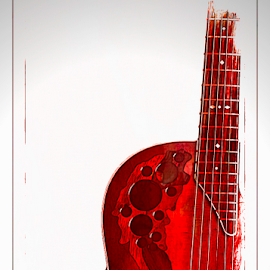 Jennys G 3  by Anthony Balzarini - Digital Art Things ( #musical, #instrament, #guitar, #digitalart, #photography )