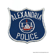 Photo: Alexandria Police Virginia (Cut Edge, Used)