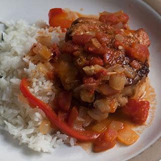 Tomato Garlic Chicken.
