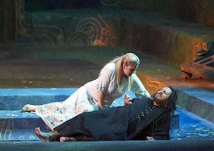 Photo: Wiener Staatsoper: SALOME am 16.1.2016. Camilla Nylund, Ian Paterson. Copyright: Wiener Staatsoper/ Michael Pöhn