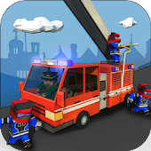 Firefighter Simulator - Rescue Games 3D