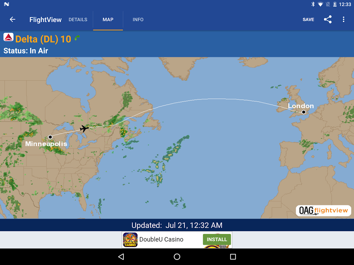 flightview free flight tracker screenshot. flightview free flight tracker  android apps on google play