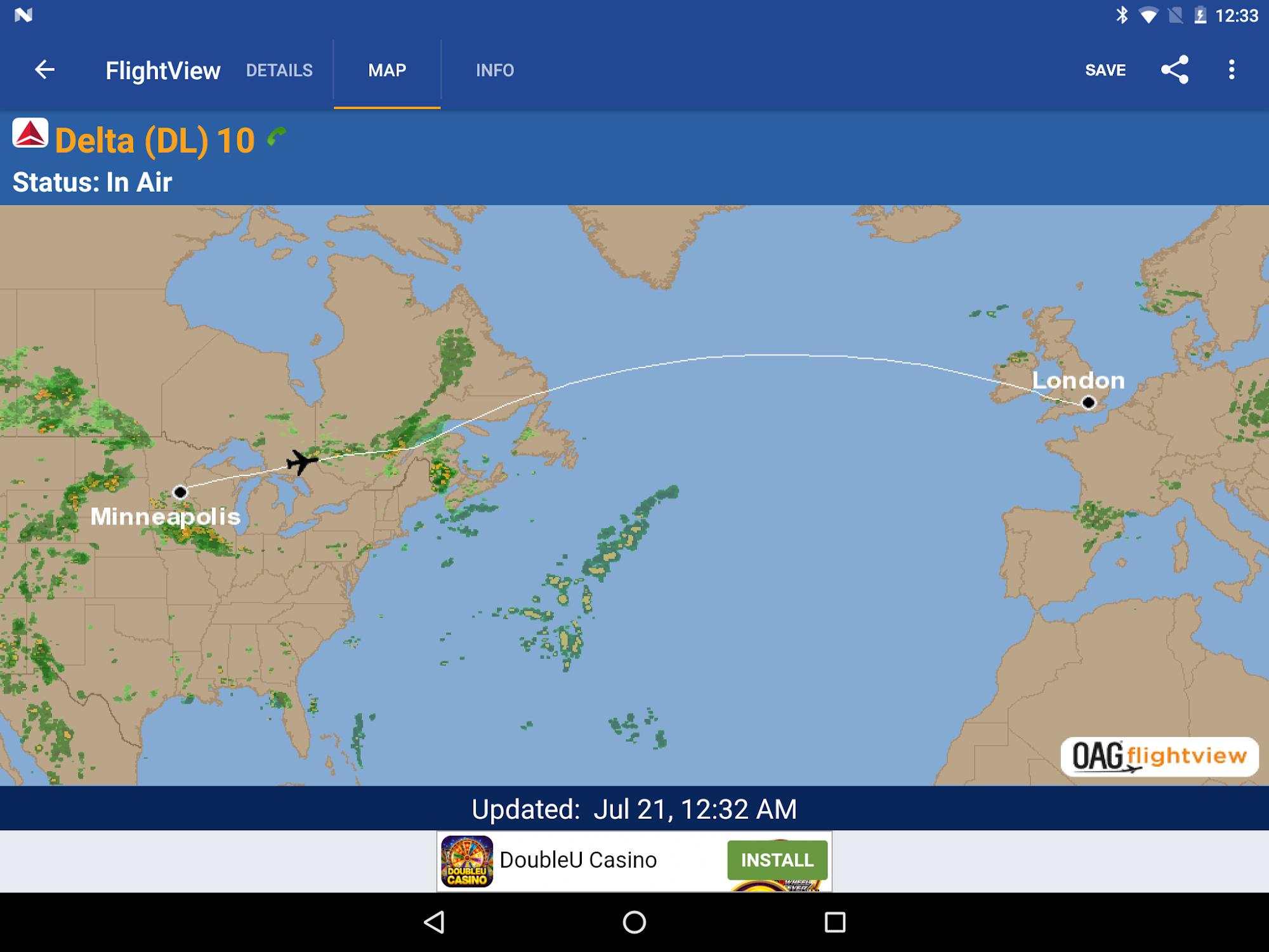 FlightView Free Flight Tracker screenshot #9