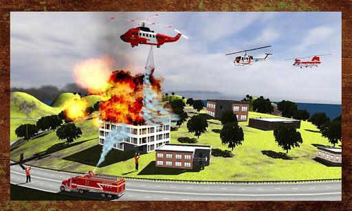 소방 구조 헬기