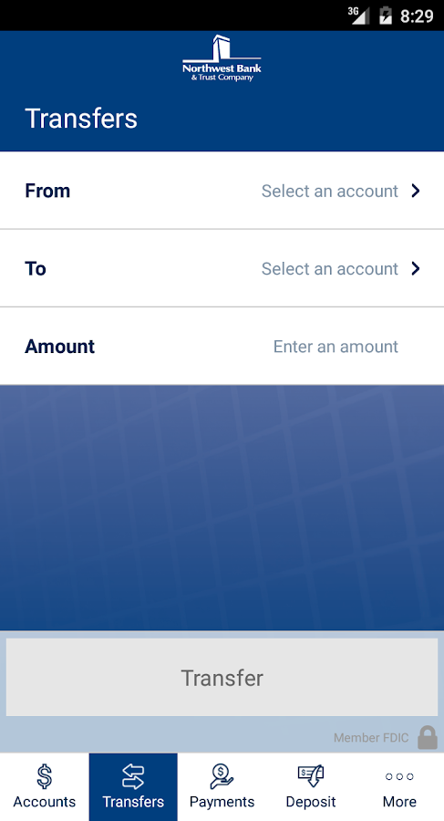 Northwest Mobile Bank- screenshot