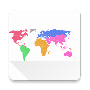 Visited world map android apps on google play cover art gumiabroncs Image collections