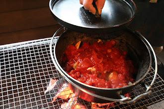 Photo: BBQの際はダッチオーブンに挑戦してみては? レンタル料金:8インチ800円から