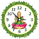 Laxmi mata clock live wallpaper icon