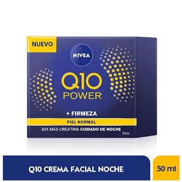 Crema NIVEA Q10   Antiarrugas Facial Noche Humectante x50Ml
