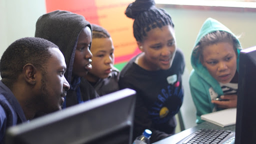 Northern Cape youth during a previous NCDev event, #gkVacWork