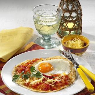 Spicy Egg Breakfast Wrap