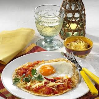 Spicy Egg Breakfast Wrap.