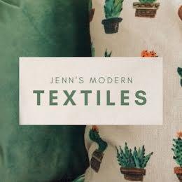 Jenn's Modern Textiles - Etsy Shop Icon item