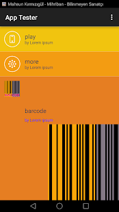 free Bar code scannar plus - náhled