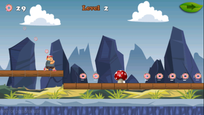 android Big Hungry Boy Jump Screenshot 5