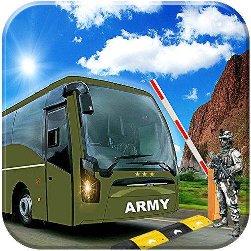 Drive US Army Bus Check Post (game)