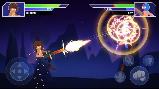 Galaxy of Stick: Super Champions Hero MOD (Unlock All Heroes) 2